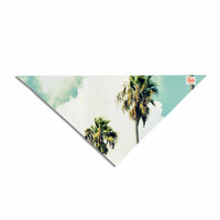 "Richard Casillas	 ""Paradise And Heaven "" Blue White Pet Bandana"