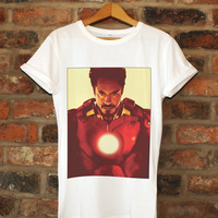 Robert Downey, Jr. Iron Man Shirt Unisex
