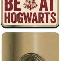 Harry Potter | Hogwarts Slogan BADGE