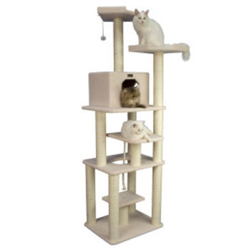 Armarkat Cat Tree Pet Furniture Condo - 32x27x78