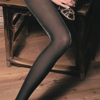 Diamante Metallic Tights