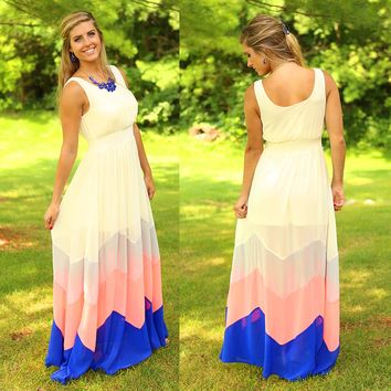 She's Unforgettable Maxi Dress