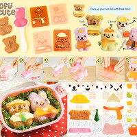 Buy Kawaii Bear & Bunny Dress Up Bento Set at Tofu Cute