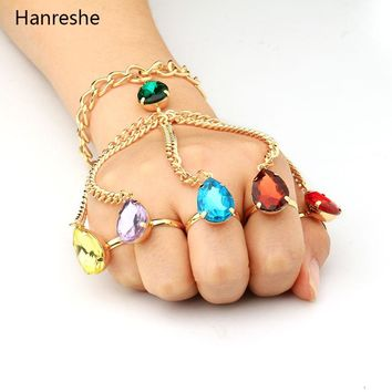 The Avengers 3 Infinity War  Infinity Gauntlet Handchain The Avengers Inspired Thanos Cosplay Infinity Stones Bracelets