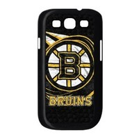Samsung Galaxy S3 I9300 hard plastic cases with Boston Bruins team logo