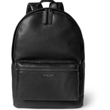 Michael Kors - Pebble-Grain Leather Backpack | MR PORTER