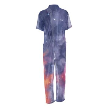 Eternal shining Mesh Jumpsuit