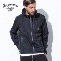 Casual Jacket Winter Fashion Slim Long Sleeve Windbreaker [8822215811]