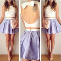 CUTE TWO PIECE DRESS