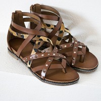 Bejeweled Strappy Sandal