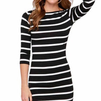 Capture The Moment Striped Dress