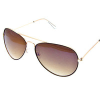 Aviator Sunglasses + free cloth case
