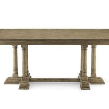 Pyrenees Rectangular Dining Table, Driftwood | Williams-Sonoma