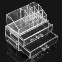 1PCs Acrylic Cosmetic Makeup Organizer Drawer Storage