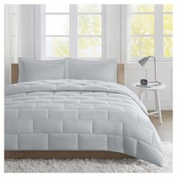 Ava Seersucker Down Alternative Comforter Set : Target
