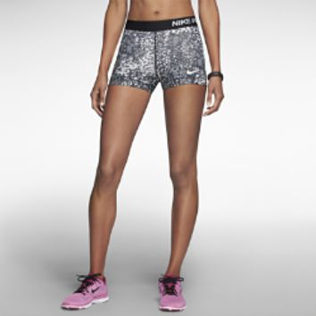 "Nike 3"" Pro Core Compression Printed Women's Shorts"
