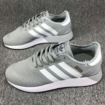 ADIDAS clover N-5923 2018 spring and summer retro trend fashion running shoes F-CSXY grey