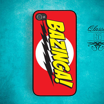 iPhone 5 iPhone 4/4s Hard Case Bazinga Iphone case for  Iphone 5 Cover iPhone 4/4s