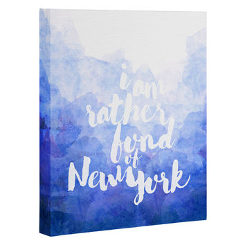 Hello Sayang I Am Rather Fond of New York Art Canvas