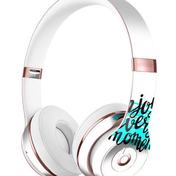 Enjoy Every Moment Full-Body Skin Kit for the Beats by Dre Solo 3 Wireless Headphones