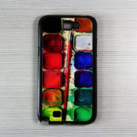 Watercolor Palette Samsung Galaxy Note 2 Hard Case