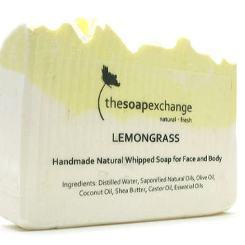 Lemongrass Whipped Soap, Lemongrass Soap, Lemon Soap, All Natural Soap, Handmade Soap, Cold Process Soap, Citrus Soap, Scented Soap