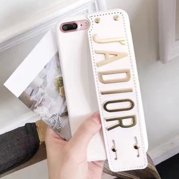 JADIOR Fashion Animal embroider Luminous iphone 7 iphone 6s 7iphone 7plus full bag frosted lovers case hard shell