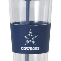 Dallas Cowboys No Spill Straw Tumbler
