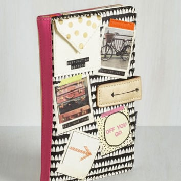 Travel See to Shining Sea Travel Wallet by Disaster Designs from ModCloth