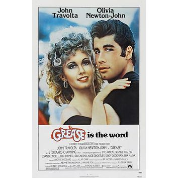 Grease Movie Poster 11inch x 17 inch