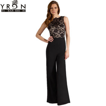 Women Elegant Cowl Back Jumpsuit