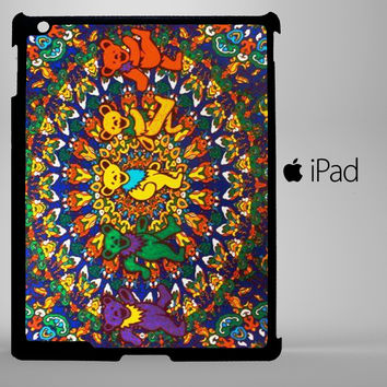 Grateful Dead and Dancing Bears iPad 2, iPad 3, iPad 4, iPad Mini and iPad Air Cases - iPad