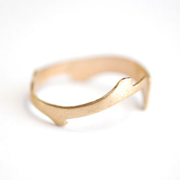 Branch Ring. Adjustable Above The Knuckle Ring