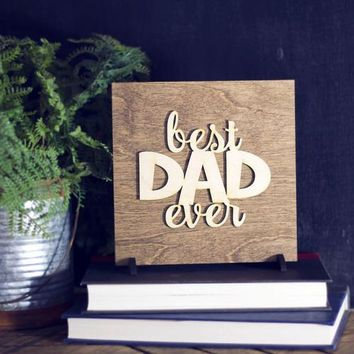 Father's Day Gift - Wood Sign