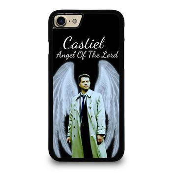 CASTIEL ANGEL OF THE LORD iPhone 4/4S 5/5S/SE 5C 6/6S 7 8 Plus X Case