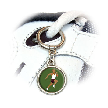 Runner - Running Track Long Distance Cross Country Shoe Charm
