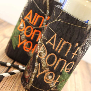 Can Cuddler- Southern Sayings- Camo- Can Kooler- Free KOOZIE ®- Country Girl Gifts- 8 oz- Water Bottle- Slim Can- Beer KOOZIE ®