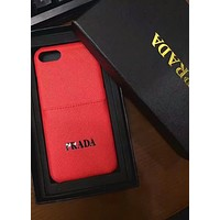 PRADA 2018 new men's and women's iPhone7Plus mobile phone sets F-OF-SJK #4