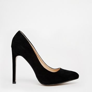 Truffle Alma Pumps - Black