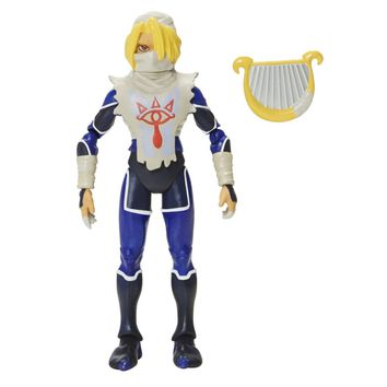 "Sheik Zelda World Of Nintendo 4.5"" Figure Super Mario"