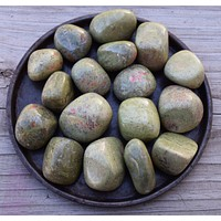 UNAKITE Crystal - Life Balance, Animal Spirit Guides Meditation Stone