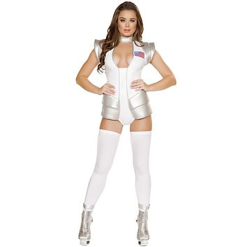 Apollo Space Girl Commander Suit Halloween Costume