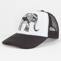 Paisley Elephant Womens Trucker Hat | Hats