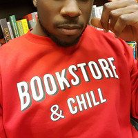 """Bookstore & Chill"" Sweatshirt(ORIGINAL PRICE: 39.99)"