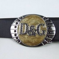 Cheap D&G Dolce & Gabbana Genuine Leather belts woman's and men's Business Waistband Belt Luxury Casual fashion Belt sale-84336836