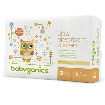 Babyganics Diapers, Jumbo Pack (Select Size)
