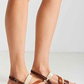 Cooper Leather Colorblock Sandal