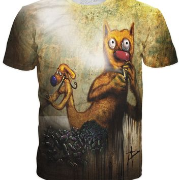CatDog on Heroin T-Shirt