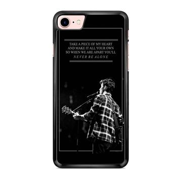 Shawn Mendes Never Be Alone iPhone 7 Case