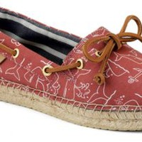 Sperry Top-Sider Katama Espadrille WashedRedWhale, Size 9M  Women's Shoes